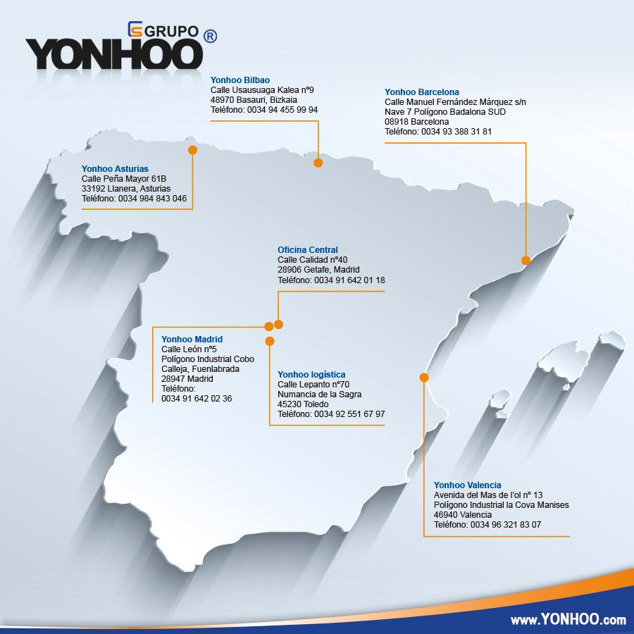 YONHOO tiendas